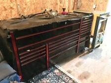 Snap-On 3 Bay Master Red and Black Used Toolbox very well cared for