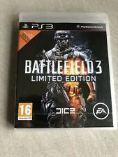 NEUF NEW battlefield 3 édition limitée playstation PS3 français