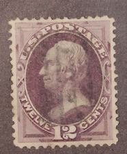 Scott 162 - 12 Cents Clay - Used - Nice Stamp - SCV - $135.00