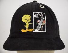 Bugs Bunny Tweety Bird Looney Tunes Stamp Collection Baseball Hat Cap Adjustable