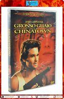 GROSSO GUAIO A CHINATOWN 1986 JOHN CARPENTER KURT RUSSELL EDIZIONE SPECIALE DVD