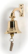 Campana náutica de barco en bronce bajo