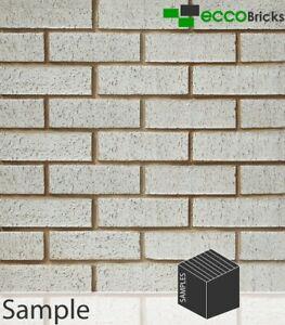 SAMPLE - Natural Ivory White Brick Slip - Extruded Brick Slip