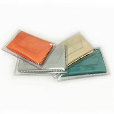 """(6pcs) Microfiber Cleaner (5.9""""x7.0"""", mixed color) each in Clear Vinyl Wallet"""