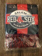 Salem Red Sox Milb Scarf Sga Stadium Giveaway