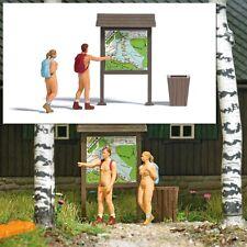 """Busch 7947 HO: A-set: """"Naakte wandelaars"""""""