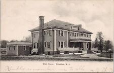 Club House Metuchen NJ New Jersey c1907 Postcard E39