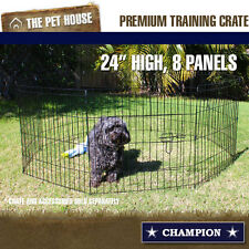 NEW Champion small wire foldable travel exercise playpen