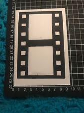 "Scrapbooking Die Cuts / Punch FILM STRIP  Shape "" X 4 BLACK"