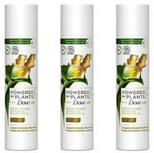 3x Dove Deo-Spray Powered by Plants Ginger,Naturkosmetik,ohne Aluminiumsalz 75ml