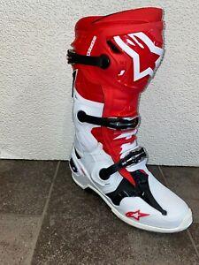 Alpinestars Tech 10 2018 Motocross Boots size 44.5 -- 067240