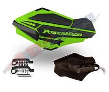 PowerMadd SENTINEL Handguard Guards KIT GREEN W/ ARMOR YFZ YFZ450R 34403