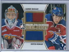 15-16 ITG Final Vault 11-12 Heroes and Prospects Brossoit/Reinhart Jsy Card 1/1