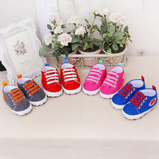 Newborn Infant Baby Cartoon Girls Boys Soft Prewalker Casual Flats Shoes