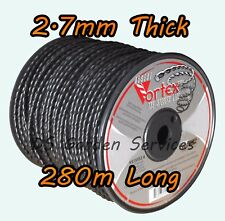 VORTEX 2.7mm x 280m Length TWISTED Line STRIMMER TRIMMER WIRE CORD