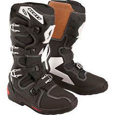 NEW SCOTT USA 450 MX Motocross Off Road BOOTS 217080 BLACK MENS SIZE 8 #1566C