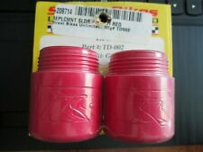 NEW STREET BIKES UNLIMITED TD-002 RED REPLACEMENT SLIDER TIPS CAPS SUZUKI GSXR