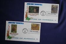 Arctic Tundra Squirrel & Ptarmigan Stamps 2 Fdcs Wii Cachets Sc#3802g-h 12028