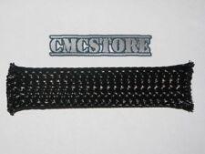 GUAINA a rete maglia elastica NERA espandibile Ø da 8 a 16mm copri cavo cavi