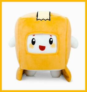 LankyBox World Foxy & Boxy Plush Doll , Soft & Stuffed Toy For Kids Gift