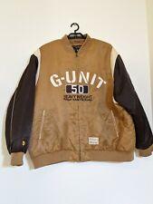 G-Unit 50 cent Heavyweight Raw Material Jacket 4Xl Tan - J1