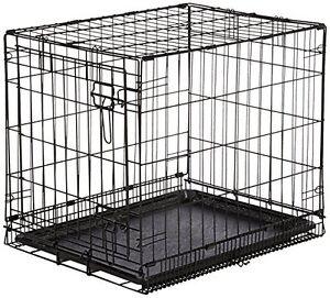 Indoor Bunny Rabbit Cage Crate Kennel Small Pet Dog Single-Door Metal Portable