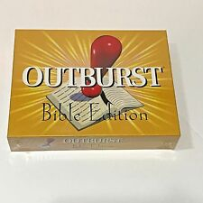 2002 Outburst Bible Edition Religious Board Game NIB