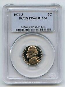 1976 S 5C Jefferson Nickel Proof PCGS PR69DCAM