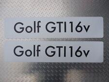 Signo de distribuidor Showroom número placas placa de logotipo VW Volkswagen Golf GTI 16v