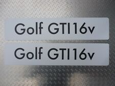 Distributeur Showroom Plaques Immatriculation Logo VW Volkswagen Golf Gti 16v