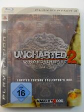 !!! PLAYSTATION PS3 SPIEL Uncharted 2 Collector Box, gebraucht aber GUT !!!
