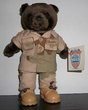 Bear Forces Of America Plush Collectible, Army, Desert Camo, Has Tag, Teddy Bear