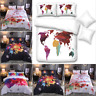 Luxury Duvet Quilt Cover With Pillowcases Bedding Set Single Double King Floral