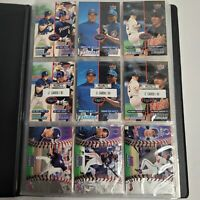 LOT OF 100+ BASEBALL CARDS COLLECTION X Cardshop Binder Many Rookies! 2000s (2)