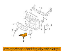 BMW OEM 08-10 335i Radiator Core Support-Air Duct Left 51747154417