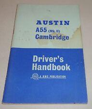 Betriebsanleitung Owner's Manual A55 Cambridge Mk II, 1964