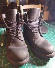 "Men's Black 6""  Suede Timberland Boots Size 9M Waterproof"