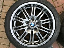 "GENUINE OEM BMW 3 SERIES E46 M3 STYLE 67 18"" FRONT ALLOY WHEEL 2229950"