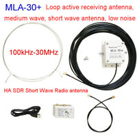 MLA-30+ (plus) 0.5-30MHz Ring Active Receive Antenna Low Noise Medium Short Wave