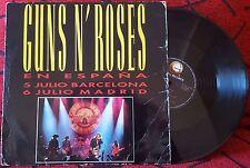 """GUNS N' ROSES **En España** VERY RARE 1993 Spain 12"""" Single 4-TRACK EP"""