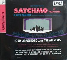 LOUIS ARMSTRONG AND THE ALL STARS (CD)  SATCHMO AT PASADENA  NEUF SCELLE