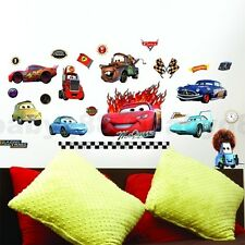 Disney car Lightning McQueen wall decals Removable stickers decor kids nursery