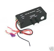 Pre-Amp RCA Input / Output Line Driver Signal Amplifier