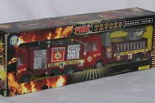 1990's Fire Trucks, Set of 2 Mint Boxed