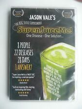 Jason Vale's Super Juice Me! (DVD, 2014) Documentary, New and Sealed