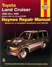 Toyota Land Cruiser Series FJ60, 62, 80 & FZJ80 (1980-96) Haynes Repair Manual (