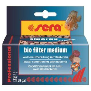 Sera 35g Siporax Bio Active Professional Biological Filtration Filter Medium
