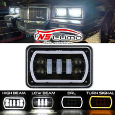 4x6'' 6x4Inch LED Headlight For Chevrolet S10/Monte Carlo/Nova/R10/ Monza/Nova