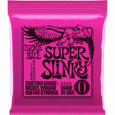 More details for ernie ball 2223 super slinky electric guitar strings 9-42 special offer