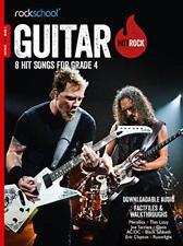 Rockschool: Hot Rock Guitar - Grade 4 (Book/Audio Download) by Various | Paperba